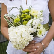 Organic Styled Bridesmaid Bouquet