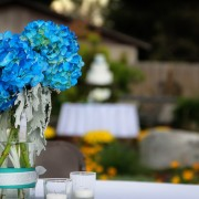 Hydrangea Table Arrangement