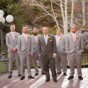 Spray Rose Groomsmen Boutonnieres