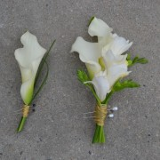 Father Boutonniere and Mother Corsage