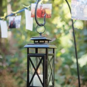 Lanterns Light Walk With Picture Garland